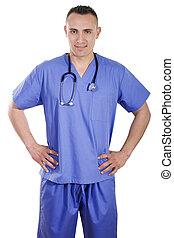 profissional, cuidado saúde
