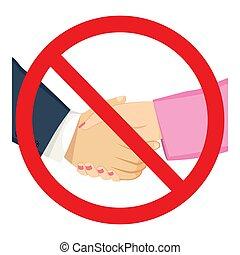 proibidas, femininas, macho, shacking, mãos