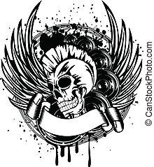 punk, asas, sinal