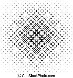 quadrado, padrão, vetorial, pretas, repetindo, branca