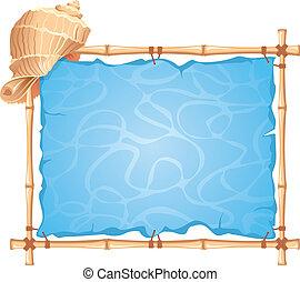 quadro, bambu