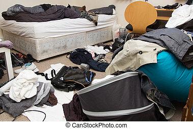 quarto messy, quarto