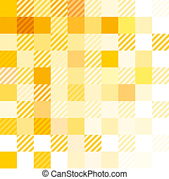 questão, abstratos, amarela