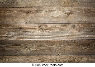 rústico, fundo, madeira resistida