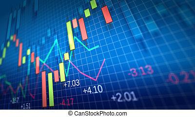 raso, chart., profundidade, field., mercado, estoque