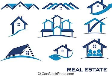 real, logotipo, projetos, propriedade
