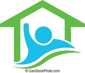 real, vec, propriedade, negócio, homeowner.