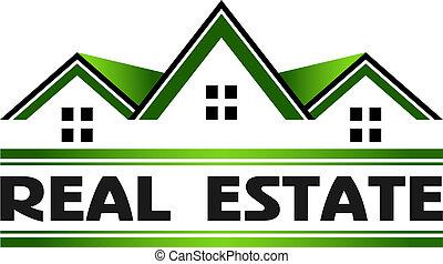 real, verde, propriedade