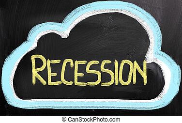 recessão, conceito