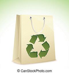 recicle, saco