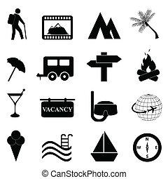 recreação, jogo, lazer, ícone