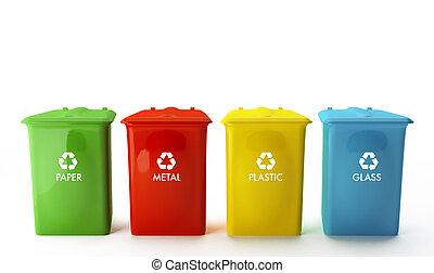 recycling recipientes