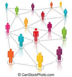 rede, mídia, social