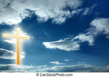 religião, crucifixos