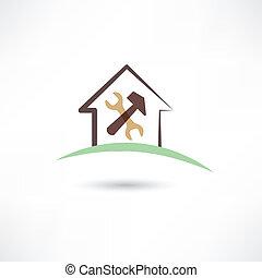 reparar, casa
