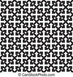 repetindo, vetorial, pattern., geomã©´ricas, seamless