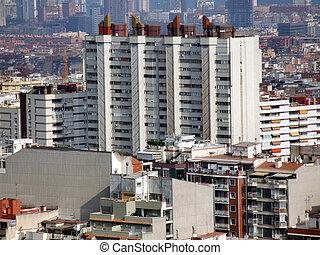 residencial, blocos