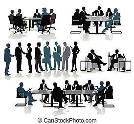 reunião, beratung