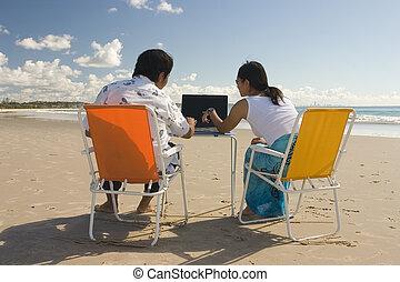 reunião, praia