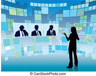 reunião, virtual