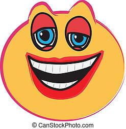 rir, rosto