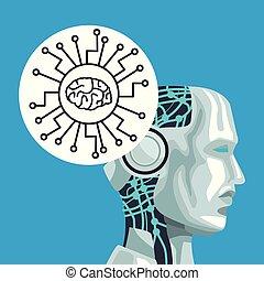 robô, inteligência artificial
