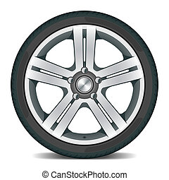 roda, car