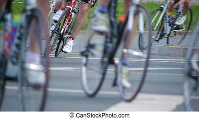 roda, ciclismo, hd-, bicicleta, marathon.