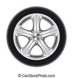 roda, estrela, pretas, borracha, car, disco, pneu, pneumático