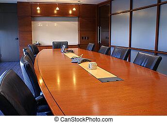 room., formação incorporada, reunião, ou