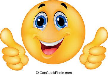 rosto feliz, smiley, emoticon