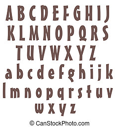 roxo, alfabeto, letras