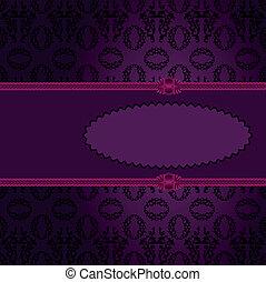 roxo, frame oval