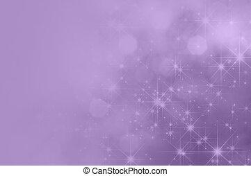 roxo, lilás, estrela, desvanecer, fundo