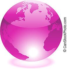 roxo, mundo