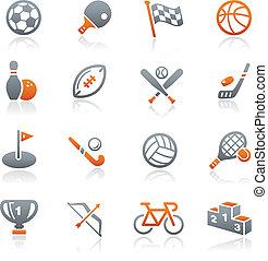//, série, esportes, grafita, ícones