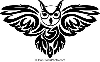 símbolo, coruja