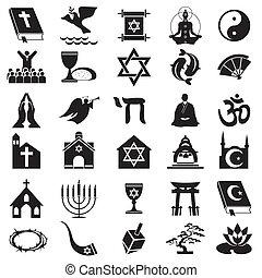 símbolo, religiosas