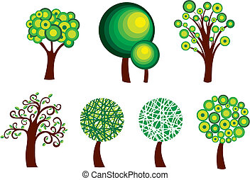 símbolos, árvore