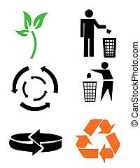 símbolos, conservação ambiental