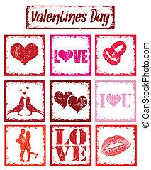 símbolos, selos, amor