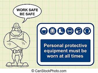 saúde, construção, segurança