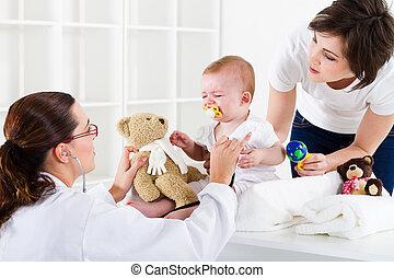 saúde, pediátrico, cuidado