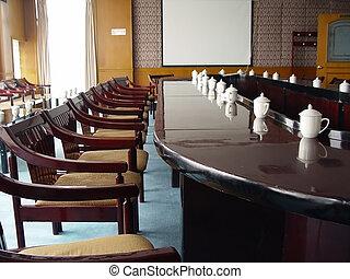 sala, conferência