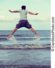 salto, liberdade
