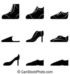 sapatos, cobrança