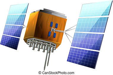 satélite, artificial