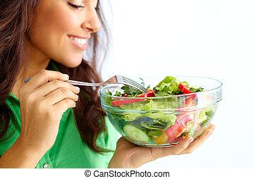 saudável, nutrição