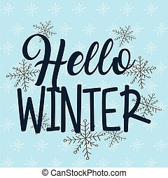sazonal, tempo, inverno