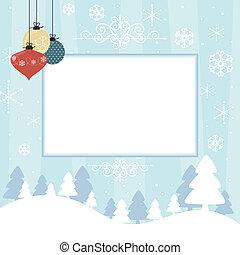 scrapbook, cartão natal
